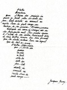 calligramme arbre