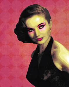 Geisha by obscure design, via Behance