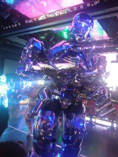 Robot restaurant Tokyo This shit is crazy and weird !!I like it!!! #japan