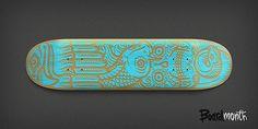 Rad Skateboard Designs by Alex Kurchin Skateboard Design, Skateboard Decks, Surf Design, Skate Surf, Illustrations, Shape Design, Skateboards, Surface Pattern, Color Inspiration