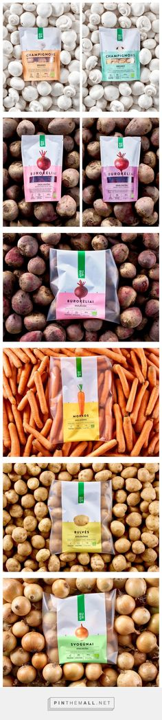 AUGA Organic Food packaging design by McCann Vilnius - http://www.packagingoftheworld.com/2016/10/auga-organic-food.html