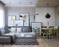 We all know Amazing Home design is really suitable for our Home. You can learn from our article Types Of Chic Home Interior Designs Which Show An Eclectic Decoration Ideas Around It) and get some ideas for your Home design. Cozy Living Rooms, Living Room Interior, Home Living Room, Apartment Living, Home Interior Design, Living Room Designs, Living Room Decor, Interior Paint, Diy Wall Decor For Bedroom