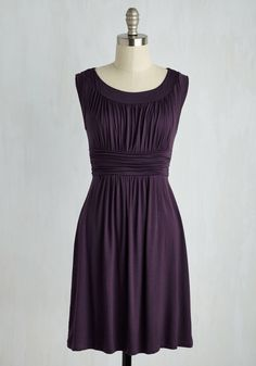 I Love Your Jersey Dress in Plum, #ModCloth