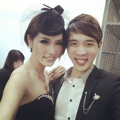Zebra Square backstage with Amber Chia @ A Small Party For Somebody - 1920 Great Gatsby Theme