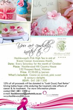 High Teas at Hacklewoods for Breast Cancer Awareness Month | South Africa Portfolio Travel Blog