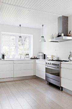 Biała kuchnia, kuchnia, jasna kuchnia