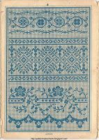 Antique French cross-stitch patterns. AMAZING site