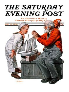 """saturday evening post covers of the 1920s 