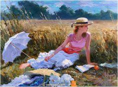 Vladimir Volegov - Girl on Field