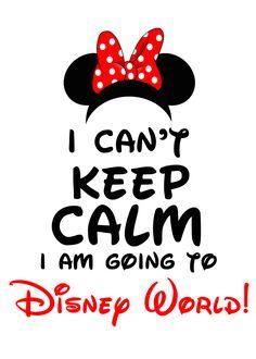 Can't Keep Calm I'm Going to Disney World! Minnie Mouse I Can't Keep Calm I'm Going to Disney World! Minnie MouseI Can't Keep Calm I'm Going to Disney World! Disneyland Paris, Disney Em Paris, Disneyland Tips, Disneyland California, Disneyland Quotes, Disneyland Orlando, Disneyland Restaurants, Orlando Disney, Orlando Florida