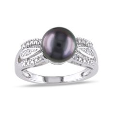 S T P 1ct Pink Pearl Mermaid Shell Ring in 925 Sterling Silver -UK Sizes M R