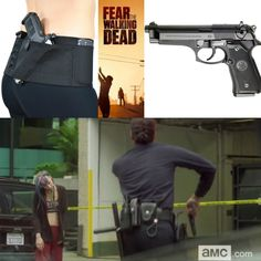 For over a twenty-five years, the Beretta 92FS 9mm has been setting the standards for best military, police and tactical pistol ! As seen in the recent 'Fear the Walking Dead' TV episode, a Beretta 92FS is drawn by an officer taking on a walker. With its superior accuracy and reliability, this firearm is still proving to be one of the best world-wide! Measuring at 8.5 inches in overall length, the Beretta 92FS pairs perfectly in a Find our speedloader now! http://www.amazon.com/shops/raeind