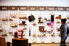 Inside Etsy Holiday pop-up store