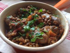 I've often made sausage and lentil casseroles over the past few years, and venison sausages are a great choice for anyone looking for a lean option, as they are generally naturally lean, without being labelled as low-fat. I used the Tesco Finest ones in this (1 syn each on Slimming World), but they do vary, I used to do a slow cooker ...