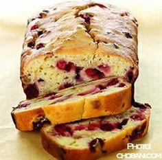 Sargent's Cranberry Recipe Collection, Faye's favorite cranberry-orange bread.