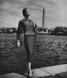 September Vogue 1957 Photographed by Toni Frissell.