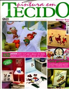 Download - Revista  Pintura em tecido Warner Bros