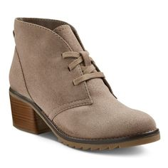 Women's Agatha Booties - Taupe (Brown)