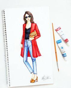 Design portfolio fashion sketchbook ideas 46 ideas for 2019 Dress Design Sketches, Fashion Design Sketchbook, Fashion Design Drawings, Fashion Sketches, Fashion Drawing Dresses, Fashion Illustration Dresses, Fashion Illustrations, Fashion Art, Fashion Models