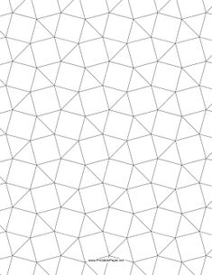 This tessellation includes triangles and squares. Free to download and print