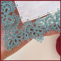 Tatting by Murphy's Designs - this is not real tatting, it's done on an embroidery machine, but I can make a pattern of the design.