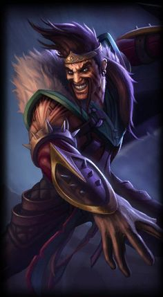 Champions - League of Legends Lol League Of Legends, Draven League Of Legends, League Of Legends Characters, Draven Skins, League Of Legends Personajes, Fantasy League, Creepy Clown, Thing 1, Cartoon Games