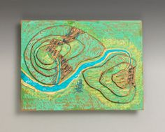 Contour Maps lesson plan - A great activity for either geography or landscape ecology!