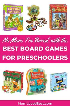 Board games are a lifesaver on rainy or snowy days when you're cooped up in the house. We've compiled a list of 25 picks that are parent and kid pleasers. #toys #kidstoys #kidstoyplay #kidsplay #playideas #babyplay #babytoys #babytoddlertoys