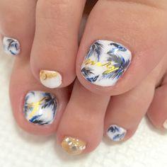 Toes Painted Toes, Toe Nail Designs, Pretty Toes, Mani Pedi, Toe Nails, How To Do Nails, Nail Art, Nailbook, Pedicures