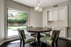 """breakfast nook - 7th Flip - Finished """"After"""" Photos by It's Great To Be Home, via Flickr"""