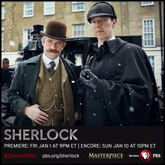 FINALLY! THE SHERLOCK SEASON SPECIAL AND SEASON 4 KICKOFF WILL PREMIERE IN THE U.S AND U.K ON NEW YEARS! IT'S SO CLOSE!!!!