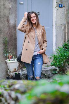 Tribulations d'Anais - Manteau beige x look boyish Boyish, Coat, Jackets, Fashion, Beige Coat, New Outfits, Down Jackets, Moda, Sewing Coat