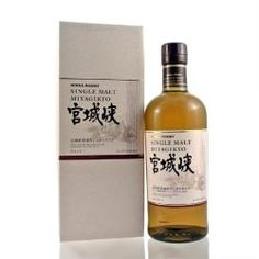 MIYAGIKYO SINGLE MALT: A no age statement single malt whisky from the Miyagikyo distillery in the Miyagi Prefecture. Characteristic of their expressions, this Miyagikyo single malt features plenty of interplay between spice and sweet fruit notes - should serve as a good introduction to Japanese whiskey.