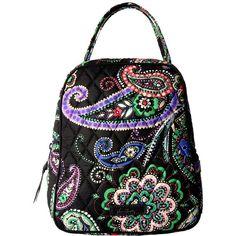 Vera Bradley Lunch Bunch (Kiev Paisley) Bags ($34) ❤ liked on Polyvore featuring bags, handbags, vera bradley bags, vera bradley, quilted bag, paisley bag and paisley purse