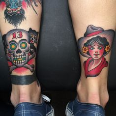 A pair from yesterday @liberty_tattoo_seattle by cooltrev