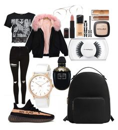 """""""Goals"""" by madisonkiss on Polyvore featuring Boohoo, adidas, Topshop, MAC Cosmetics, MANGO, Marc by Marc Jacobs, L'Oréal Paris, Rimmel, Givenchy and Alexander McQueen"""