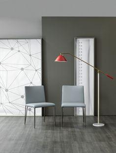 Filly Large chair  by Bonaldo www.bonaldo.it   #interiordesign #nterior #design #italy #bonaldo #table #chair #dining #home #collection #modern #furniture #furnishing #grey #home #collection #metal #fabrics #madeinitaly #dubai