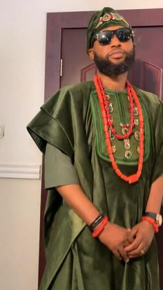 African Shirts, African Men, African Clothes, African Wear Dresses, African Attire, African Textiles, African Fabric, Agbada Styles, Yoruba Wedding