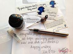 Mailbox Goodies: @GouletPens Luxury Brands & @FountainPenDay Swag @CarolLuxury