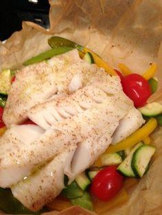 Easy fish and veggie recipe