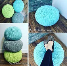 Crochet Pouf Free Pattern