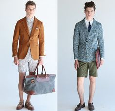 Ernest Alexander 2014 Spring Summer Mens Presentation - New York Fashion Week: Designer Denim Jeans Fashion: Season Collections, Runways, Lookbooks and Linesheets