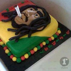 Rasta Party Decoration Ideas Rasta cake My of Jamaican