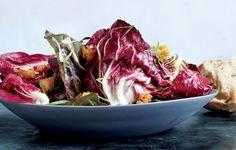Radicchio Salad with Sourdough Dressing Recipe