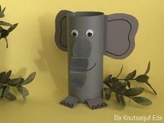 hoe maak je een olifant van papier? | olifant knutselen van papier | | Hoe knutsel je een olifant? Upcycled Crafts, Easy Crafts, Diy And Crafts, Arts And Crafts, Cardboard Tubes, Cardboard Crafts, Paper Crafts For Kids, Diy For Kids, Kids Toilet