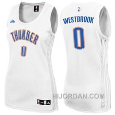 Womens Oklahoma City Thunder  0 Russell Westbrook New Swingman Fashion  White Jersey Online E5AXFNZ 862436b0a