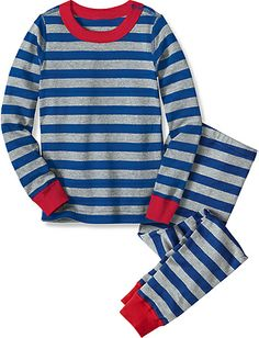 Long John Pajamas In Organic Cotton | Boys Sleepwear
