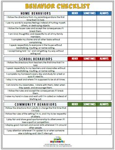School Behavior Chart, Behaviour Chart, Classroom Behavior, Behavior Plans, Behavior Charts For Home, Behavior Contract, Behavior Rewards, Classroom Decor, Child Behavior