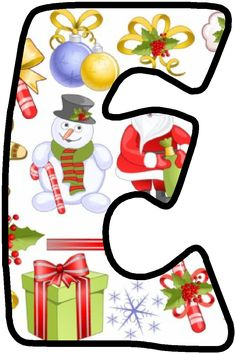Christmas Photo Booth, Christmas Photos, Christmas Crafts, Alphabet Letters Design, Alphabet And Numbers, Scrapbook Images, Christmas Alphabet, Letter A Crafts, Christmas Printables