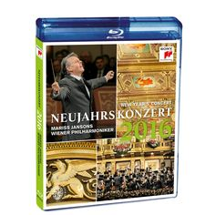 Great Performances: Vienna Philharmonic New Year's Concert 2016 Blu-ray